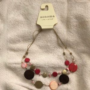 NWT Sonoma necklace.